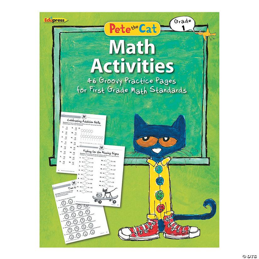 Pete the Cat™ Math Activities - Grade 1