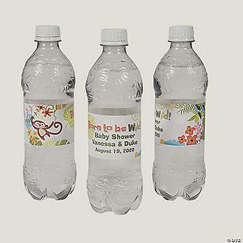 Princess Jasmine Aladdin ~ Water Bottle Labels ~ Birthday Party Baby Shower