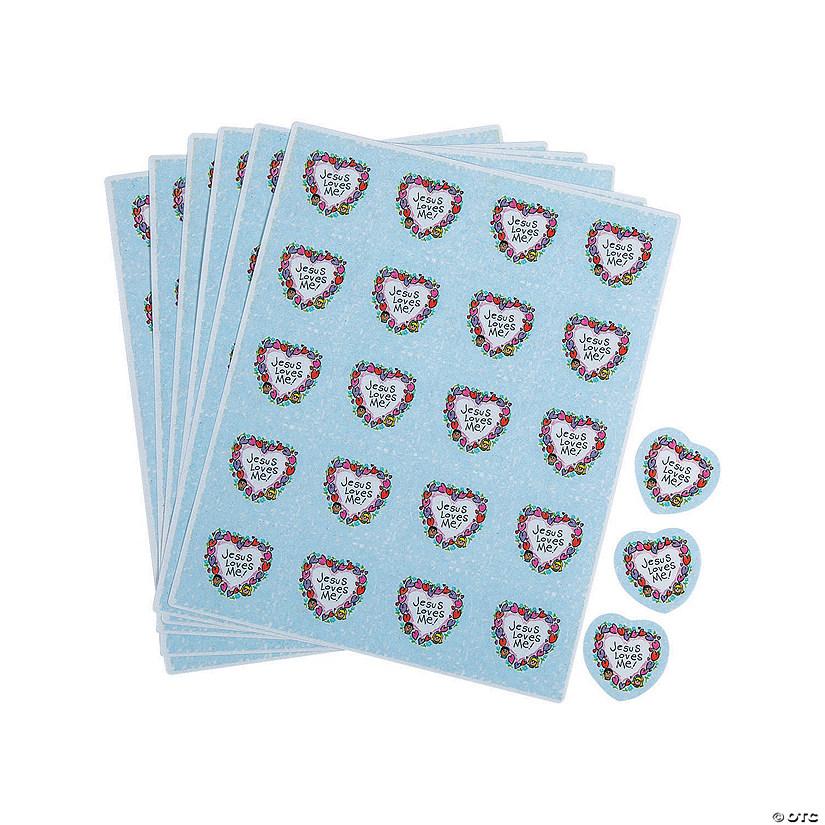 Carson-Dellosa® Jesus Loves Me Sticker Sheets