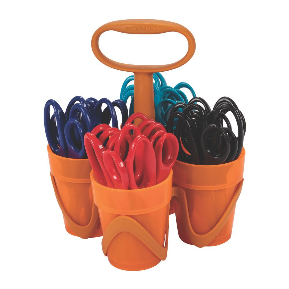 Fiskars® Pointed-Tip Scissors Classpack Caddy
