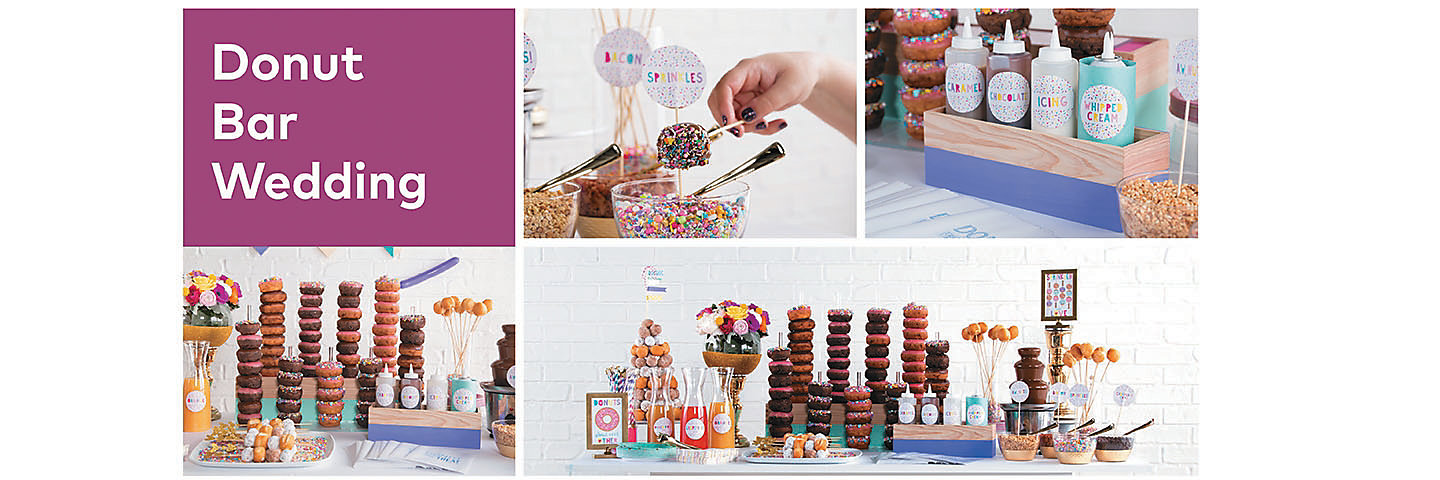 Donut Bar Wedding Party Supplies