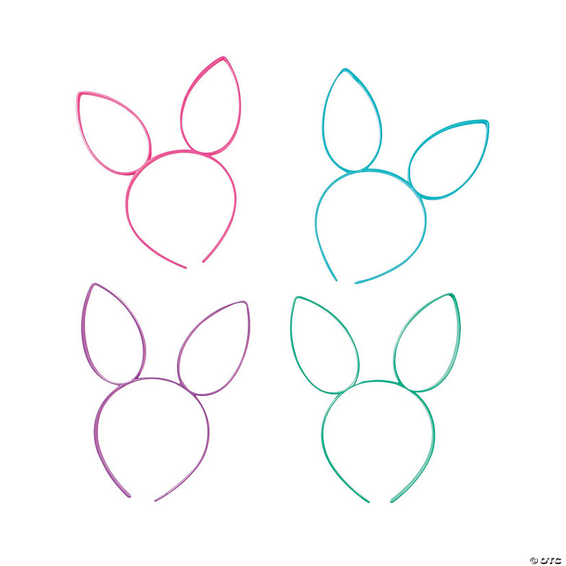 Bunny Ear Headbands 03750ac037f4
