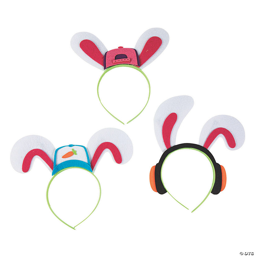 Hip-Hop Bunny Headbands a1c81f0b9cbf