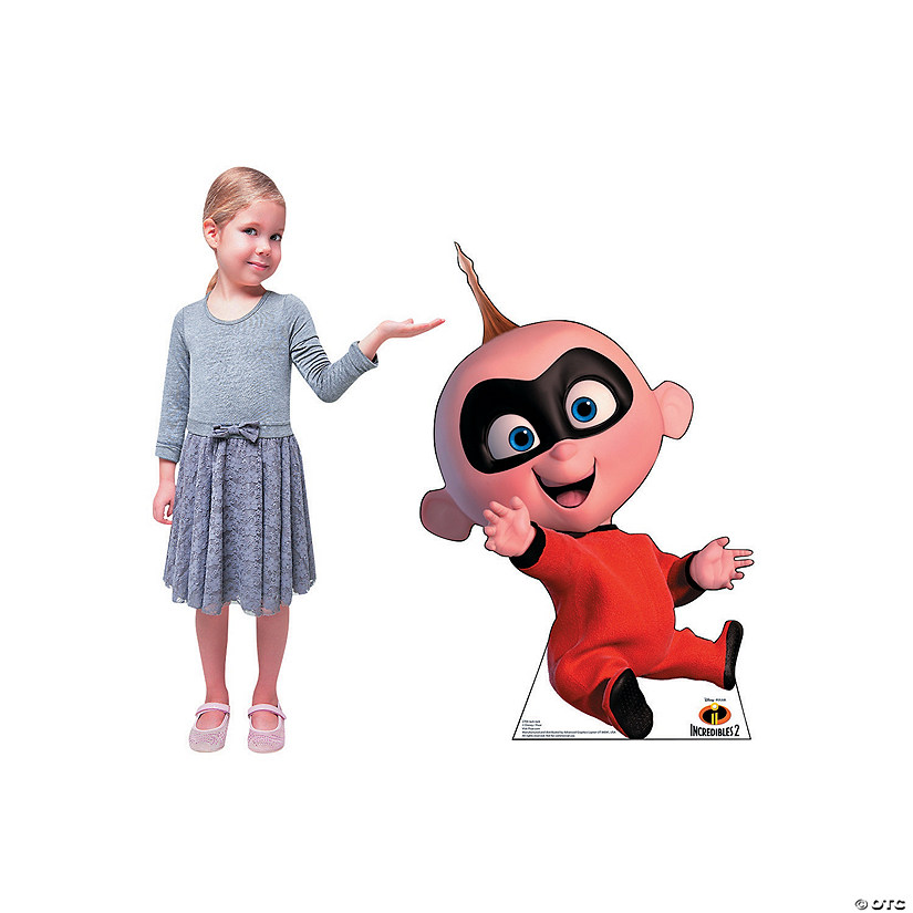 incredibles 2 jack jack stand up