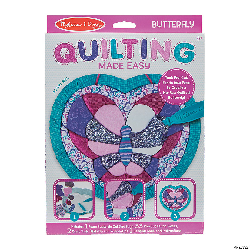 Melissa Doug Butterfly Quilting Sign