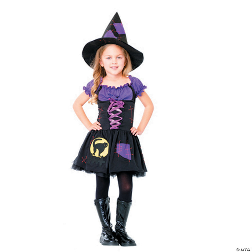 Black witch costume nice