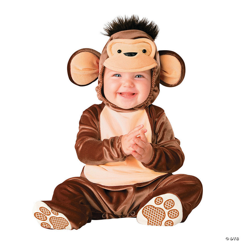 Baby Monkey Around Costume 12-18 Mnths Toddler Babies Costume Outfit