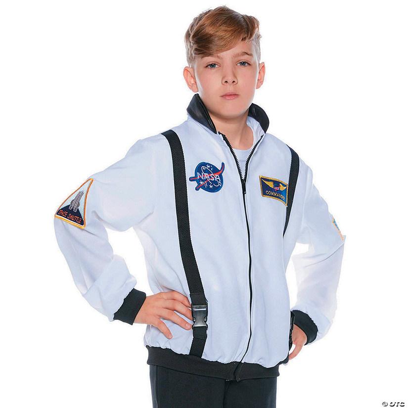 Kid S White Astronaut Jacket Halloween Costume