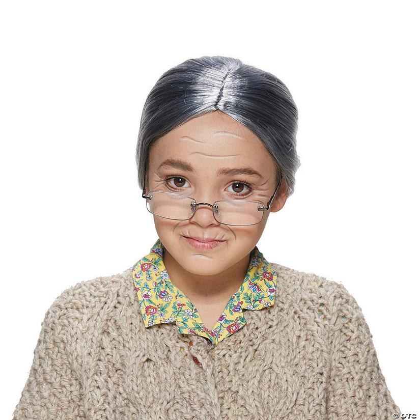 Kid's Old Lady Wig