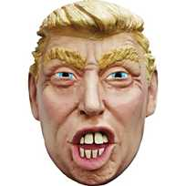 photograph relating to Donald Trump Mask Printable known as Grownups Hillary Clinton Mask Oriental Buying and selling