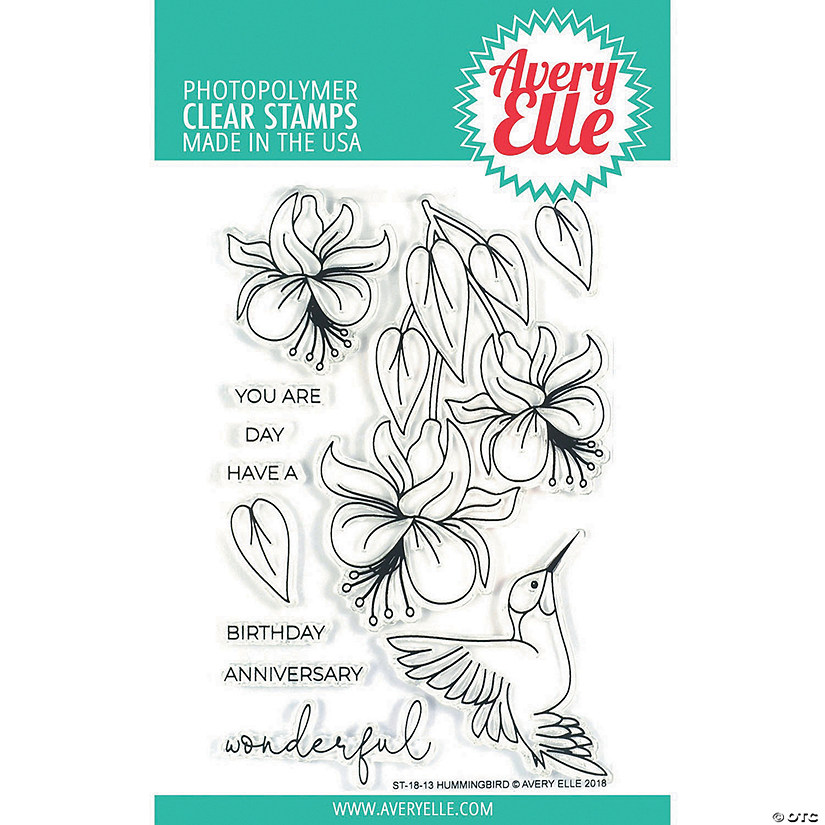 Avery Elle Clear Stamp Set 4x6