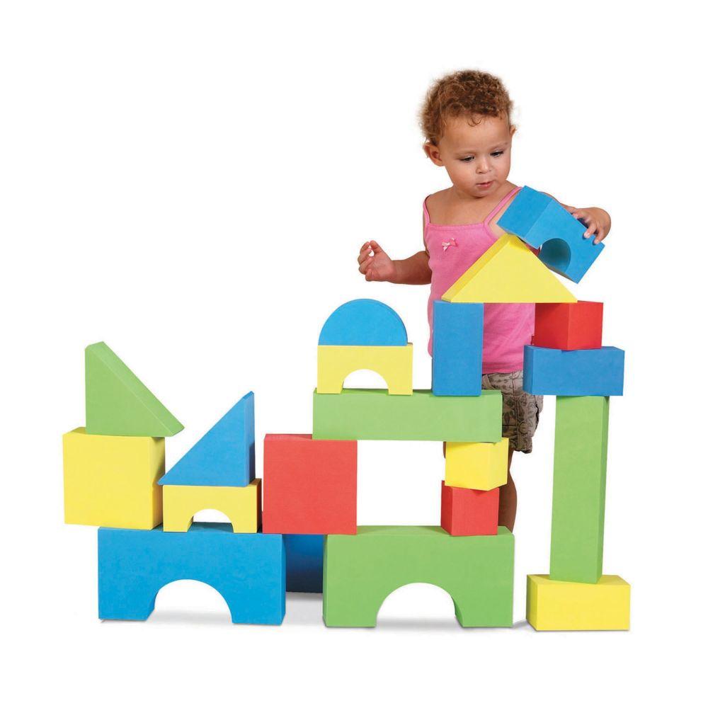 Big Foam Educolor Block Set From MindWare