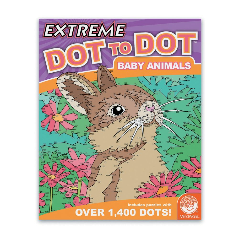 Extreme Dot To Dot Baby Animals From MindWare