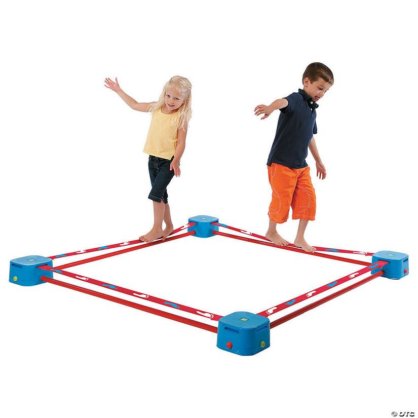 playzone balance blox quad slackline kit
