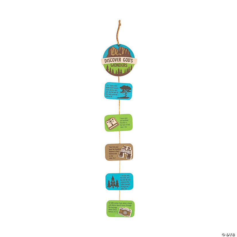 Wild Encounters Vbs Verse A Day Craft Kit Oriental Trading