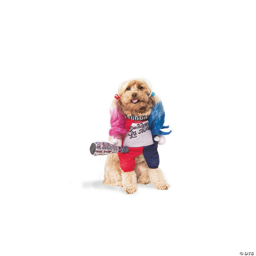 harley quinn dog costume