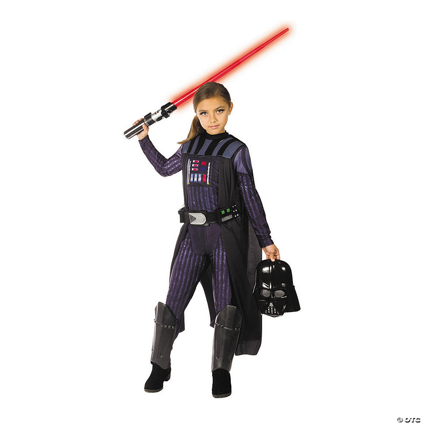 Star Wars Halloween Costumes.Girl S Star Wars Classic Darth Vader Costume