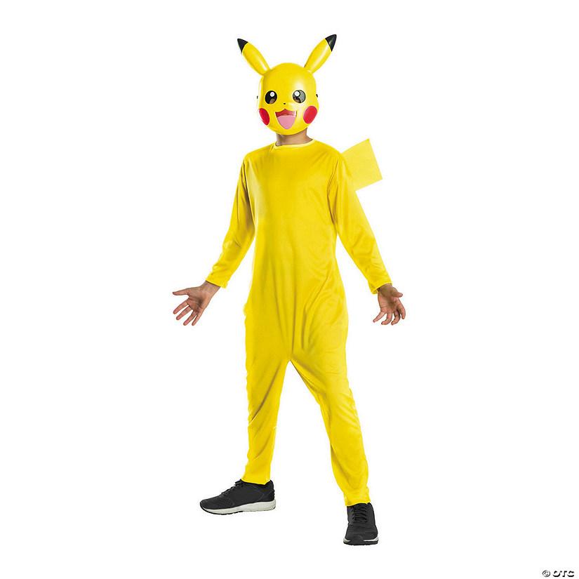 Kid S Pokemon Pikachu Costume With Mask