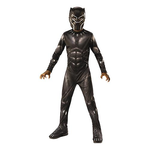 Black Panther Gloves Marvel Superhero Halloween Deluxe Child Costume Accessory