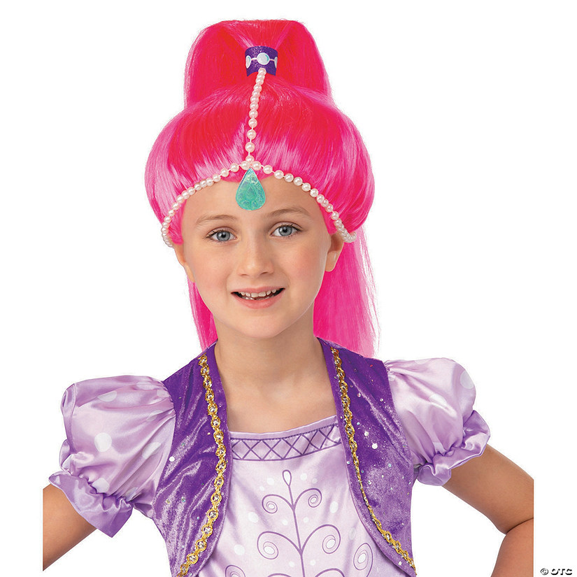 Women s Nickelodeon™ Shimmer   Shine™ Pink Wig bbdf59879