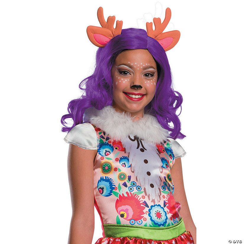 f6186af2a4f Girl's Enchantimals™ Danessa Deer Wig with Ears & Antlers | Oriental Trading