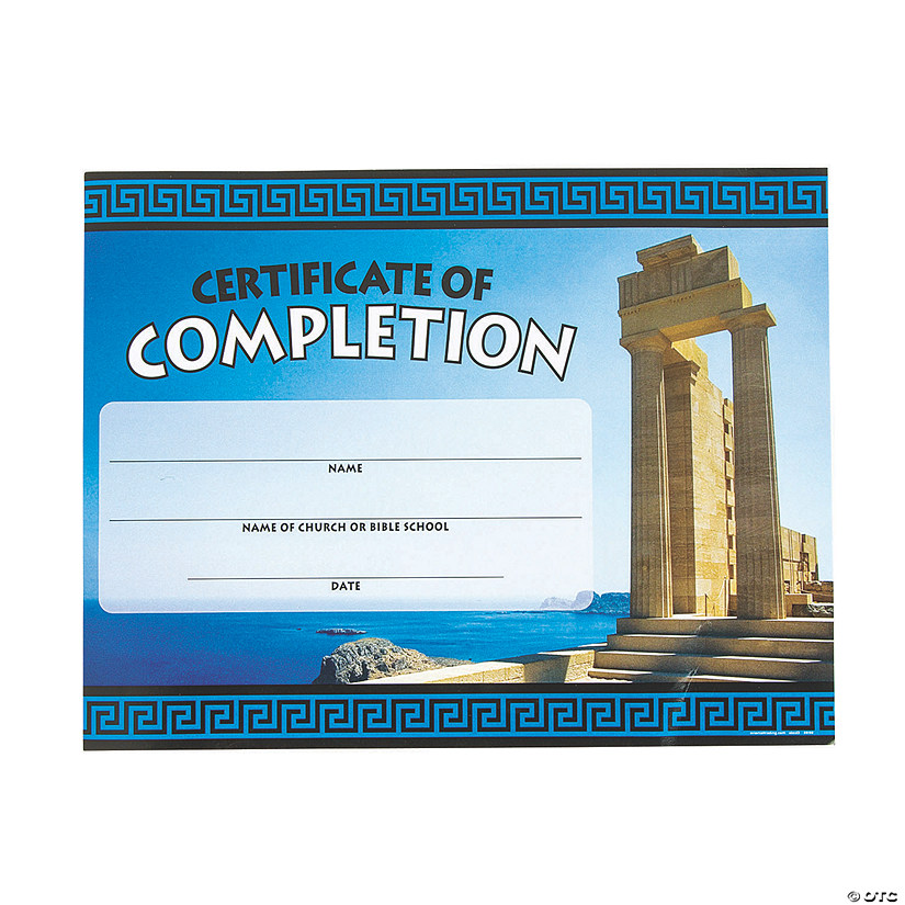 picture regarding Vbs Certificate Printable titled Athens VBS Certificates of Completion