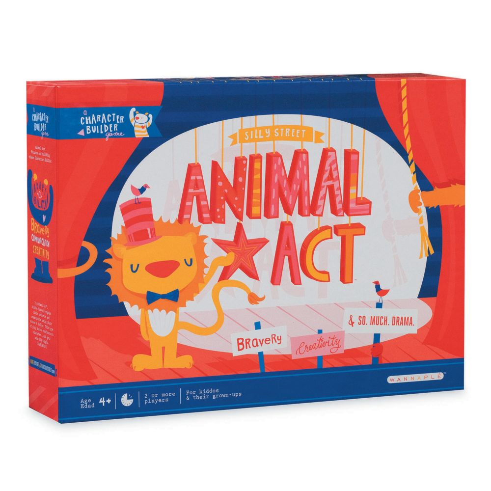 Animal Act Game From MindWare