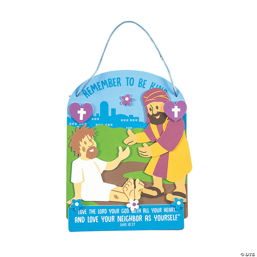 Good Samaritan Sign Craft Kit Oriental Trading