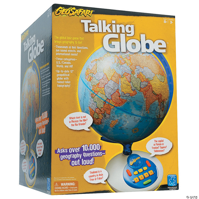 Geosafari Talking Globe | Oriental Trading