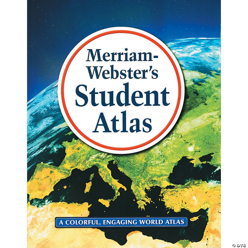 Merriam Webster Student Atlas Pack Of 2