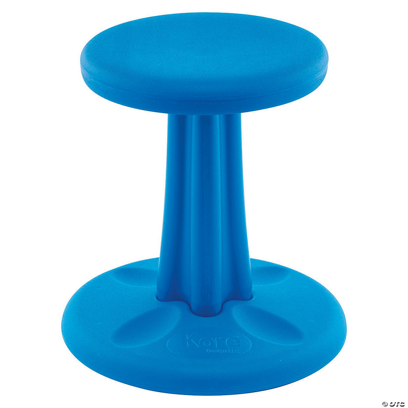 Terrific Kids Kore Wobble Chair 14In Blue Andrewgaddart Wooden Chair Designs For Living Room Andrewgaddartcom