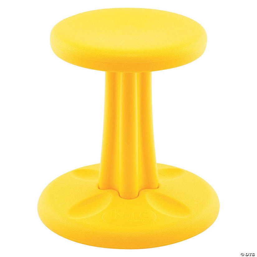 Wondrous Kids Kore Wobble Chair 14In Yellow Andrewgaddart Wooden Chair Designs For Living Room Andrewgaddartcom