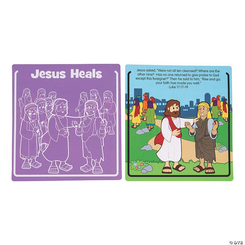 Jesus Heals Leprosy Scratch N Reveal Activities