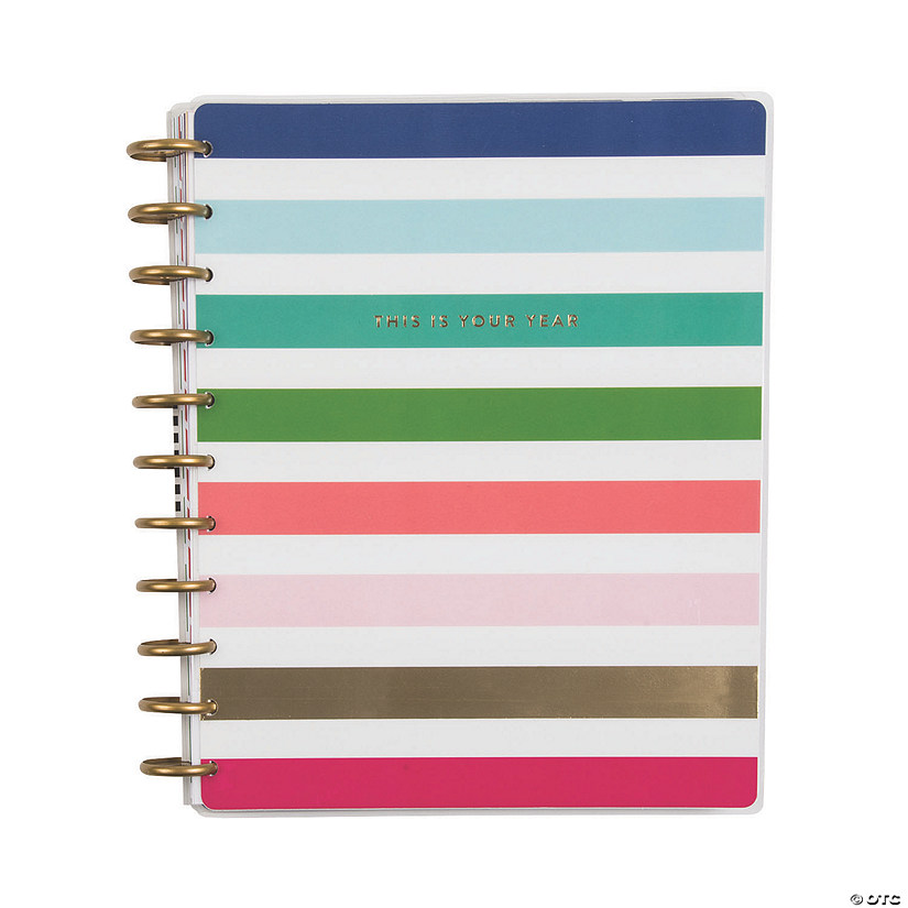 the happy planner sup sup modern bright 12 month planner