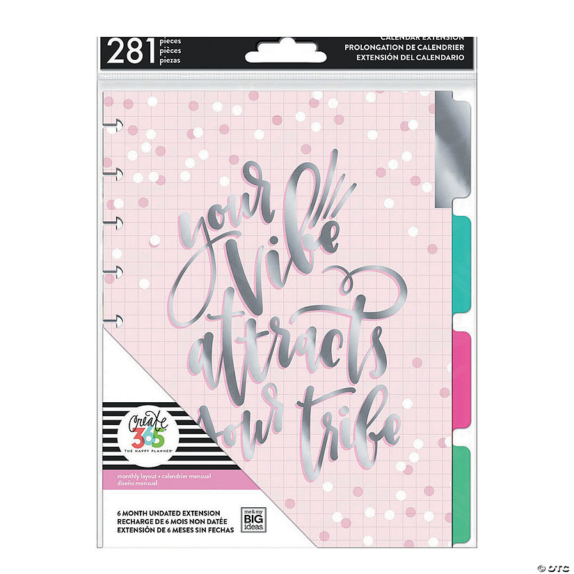 The Happy Planner Sup Sup Classic 6 Month Planner Extension