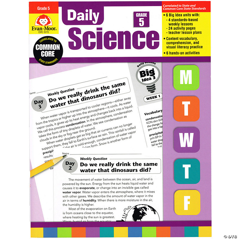 Evan-Moor Daily Science Book, Grade 5