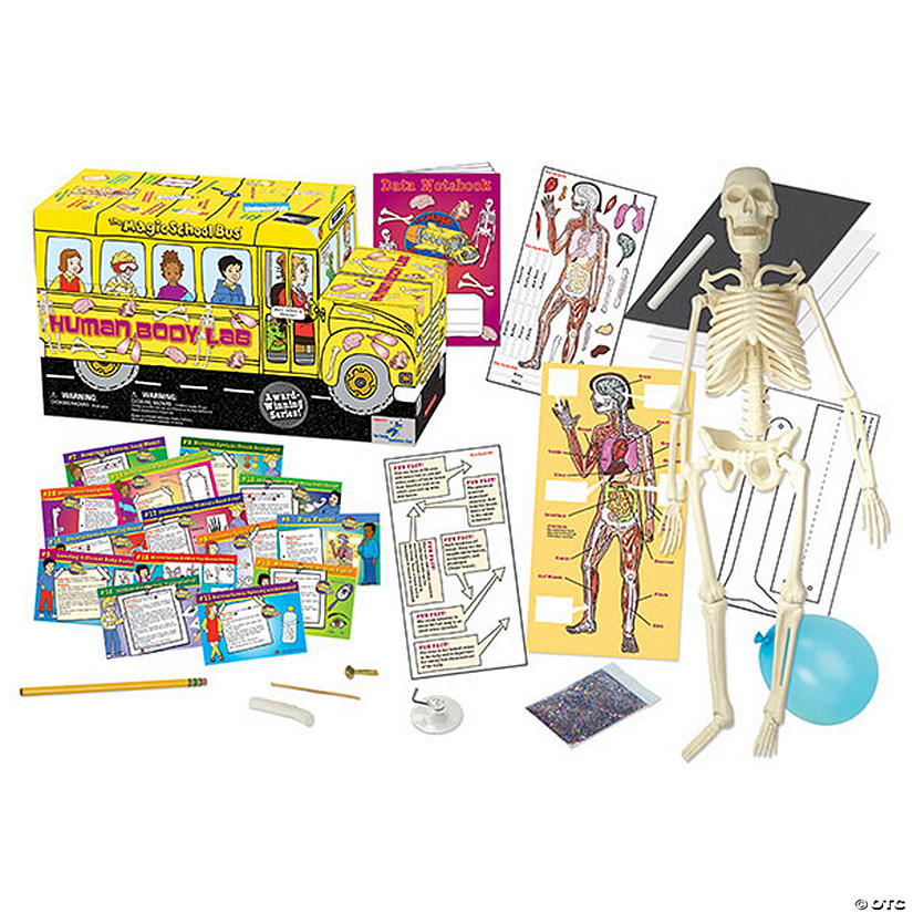 The Magic School Bus Human Body Lab Oriental Trading