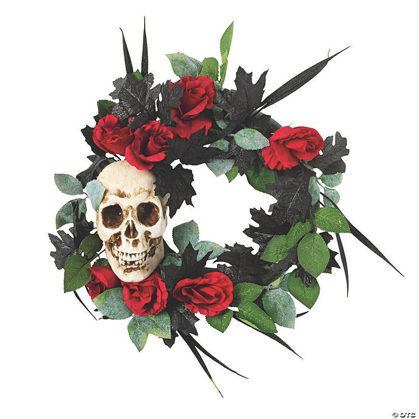 Gothic Wreath Halloween Decoration   Oriental Trading