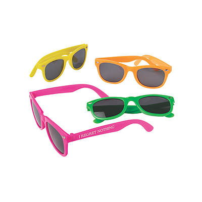 e9af650e43 Personalized Neon Bridal Party Nomad Sunglasses