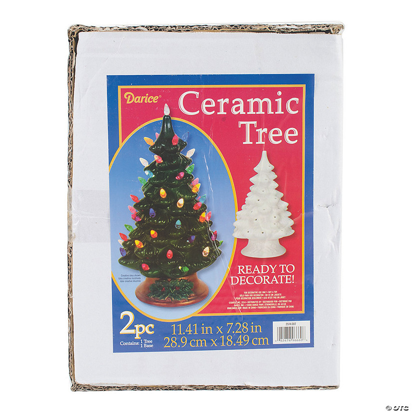 Diy Ceramic Christmas Tree 11 4 Discontinued