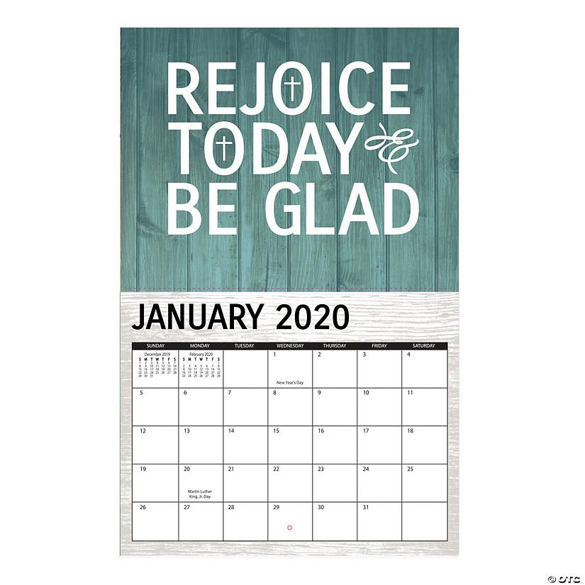 Trading Calendar 2020 2020 Rustic Faith Wall Calendar | Oriental Trading