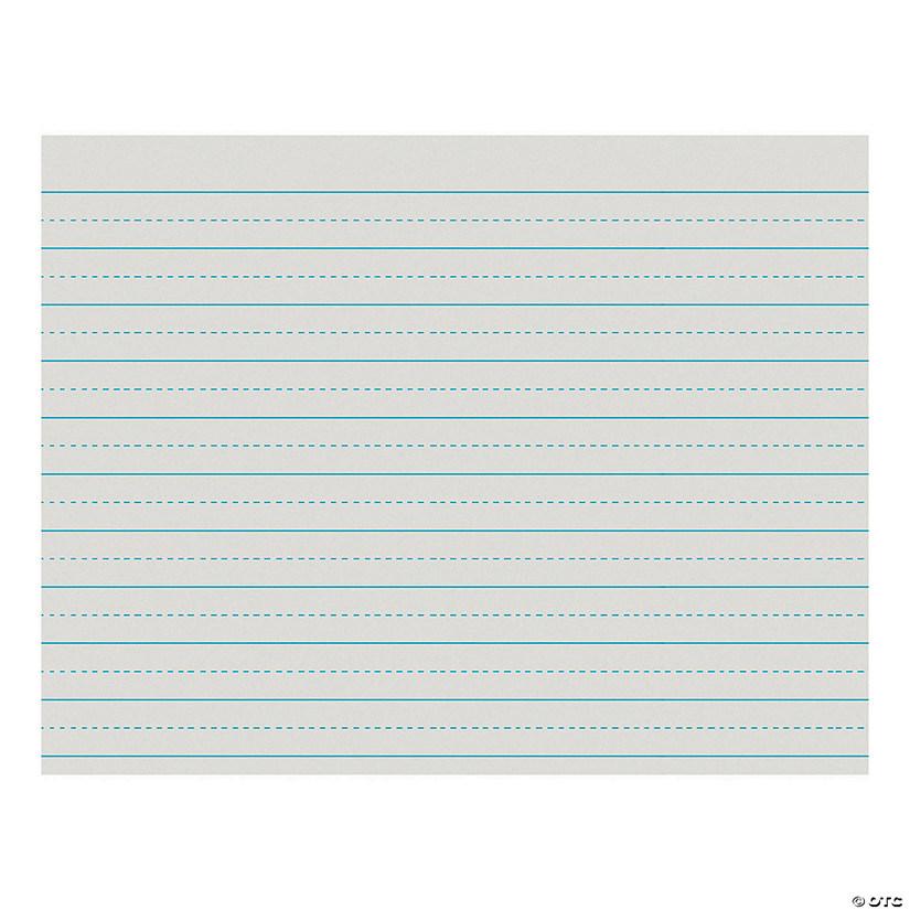 Newsprint Handwriting Paper, Alternate Dotted, Grade 2, White, 3/4