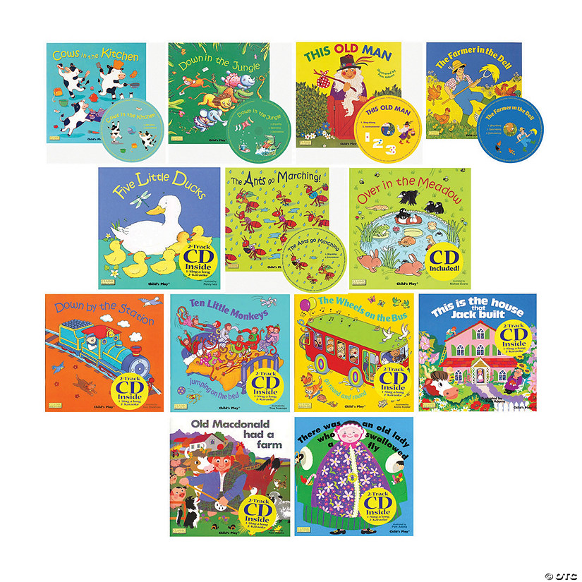 Songs And Rhymes Collection Set With Cds Set Of 13