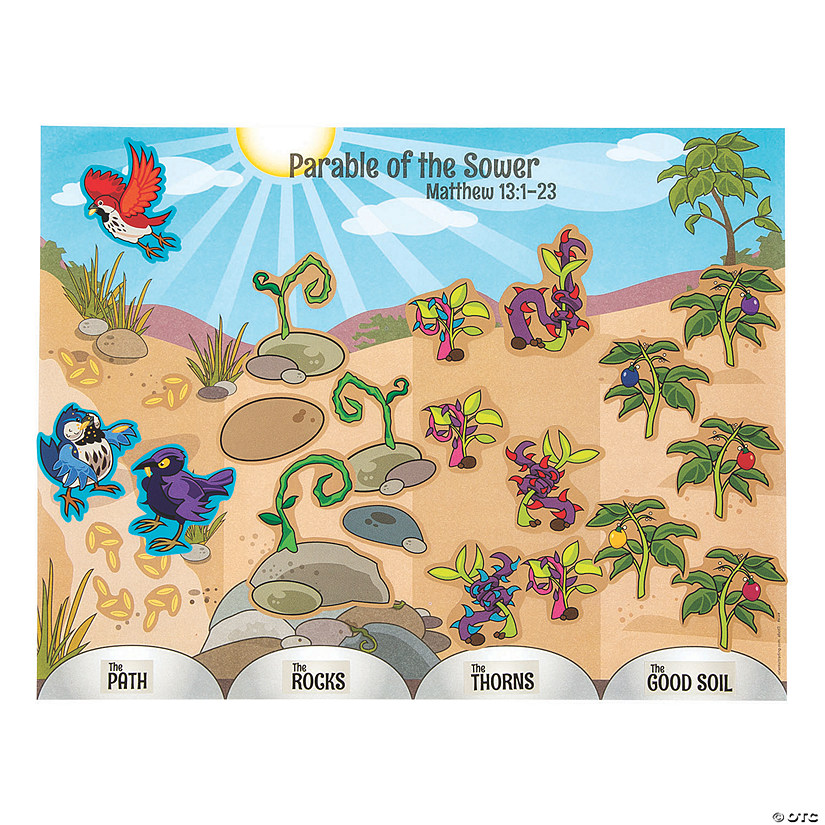 Parable of the Sower Sticker Scenes
