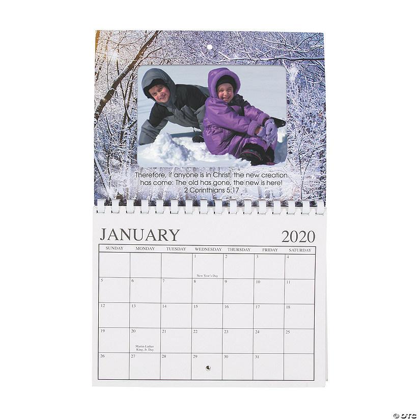 2020 Religious Photo Frame Calendar