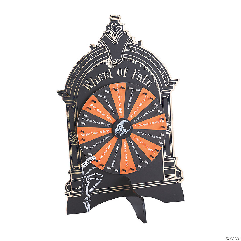 Halloween Haunted Fate Spinner Game