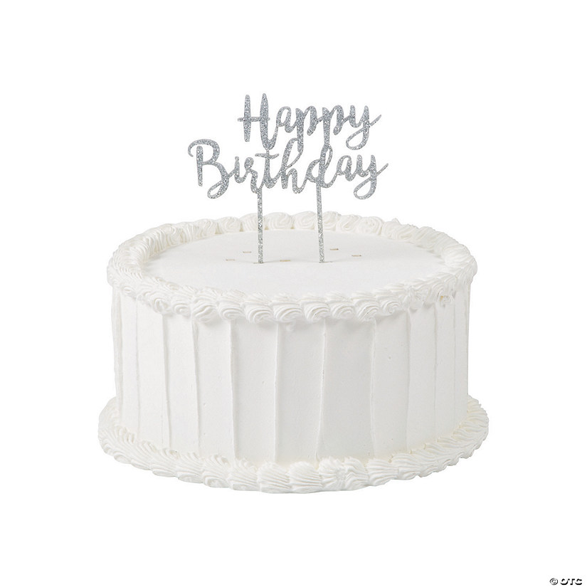 Happy Birthday Cake Topper Oriental Trading