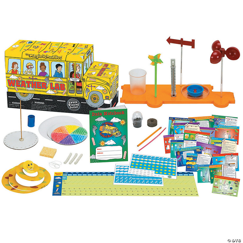 The Magic School Bus Weather Lab Oriental Trading