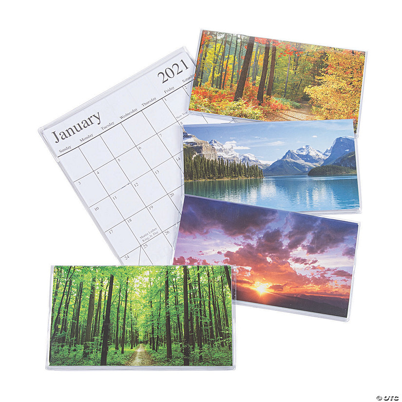 2020 - 2021 Nature Pocket Calendars - Discontinued