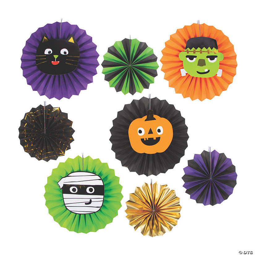 Ghoul Gang Hanging Fans Halloween Decorations